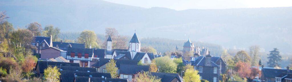 Lauder rooftops